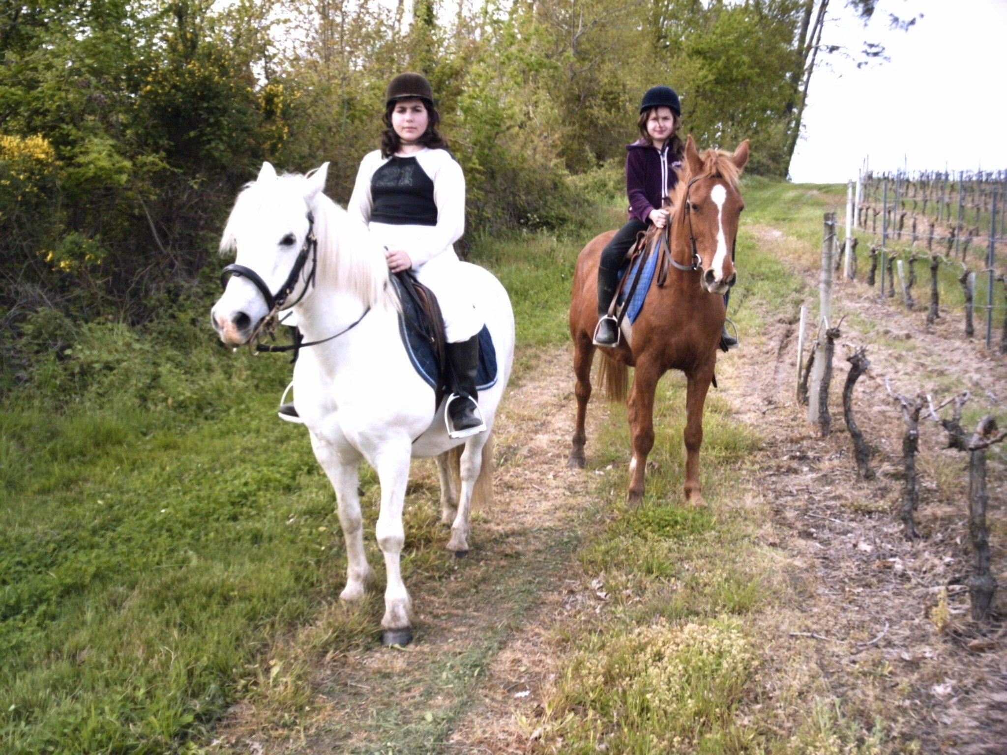 Les filles à cheval