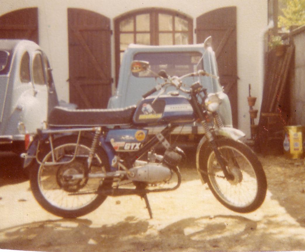 PEUGEOT TSR modèle 1972