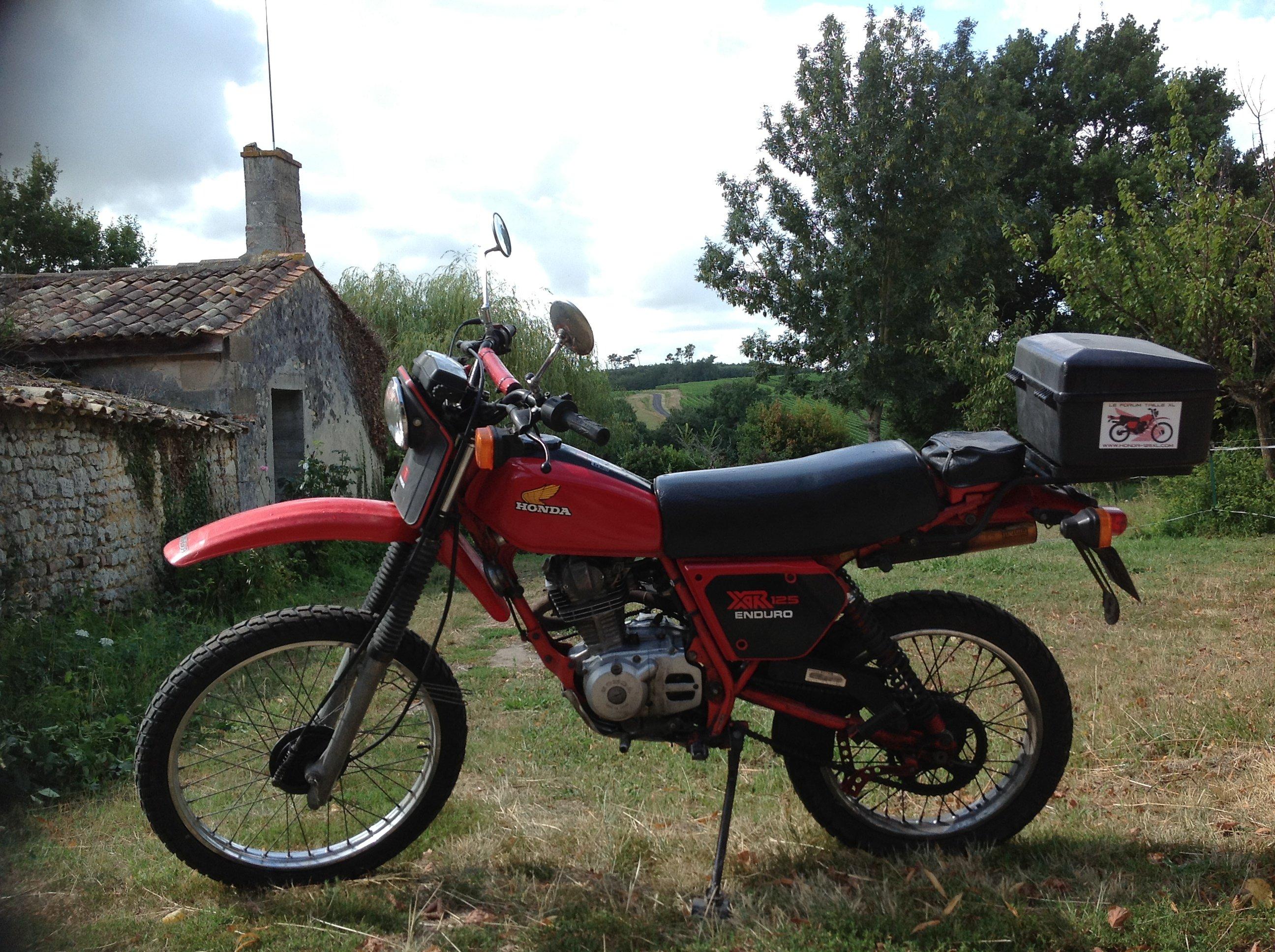 Mon  125 mono Honda adoré...... - Page 2 136