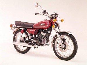 Yamaha RD 125 74